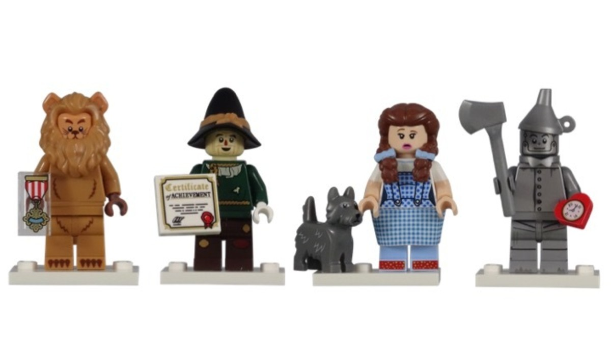 Lego Wizard of Oz Minifigures From Lego Movie 2 Cmf Series Review