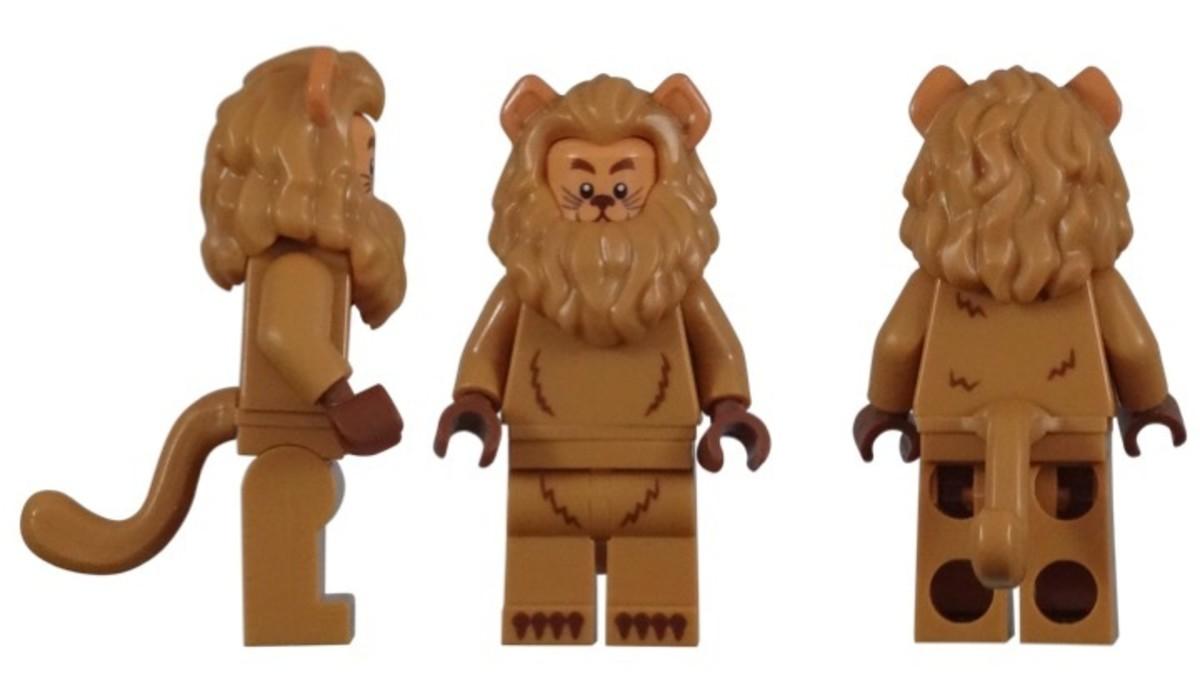 LEGO Cowardly Lion Minifigure