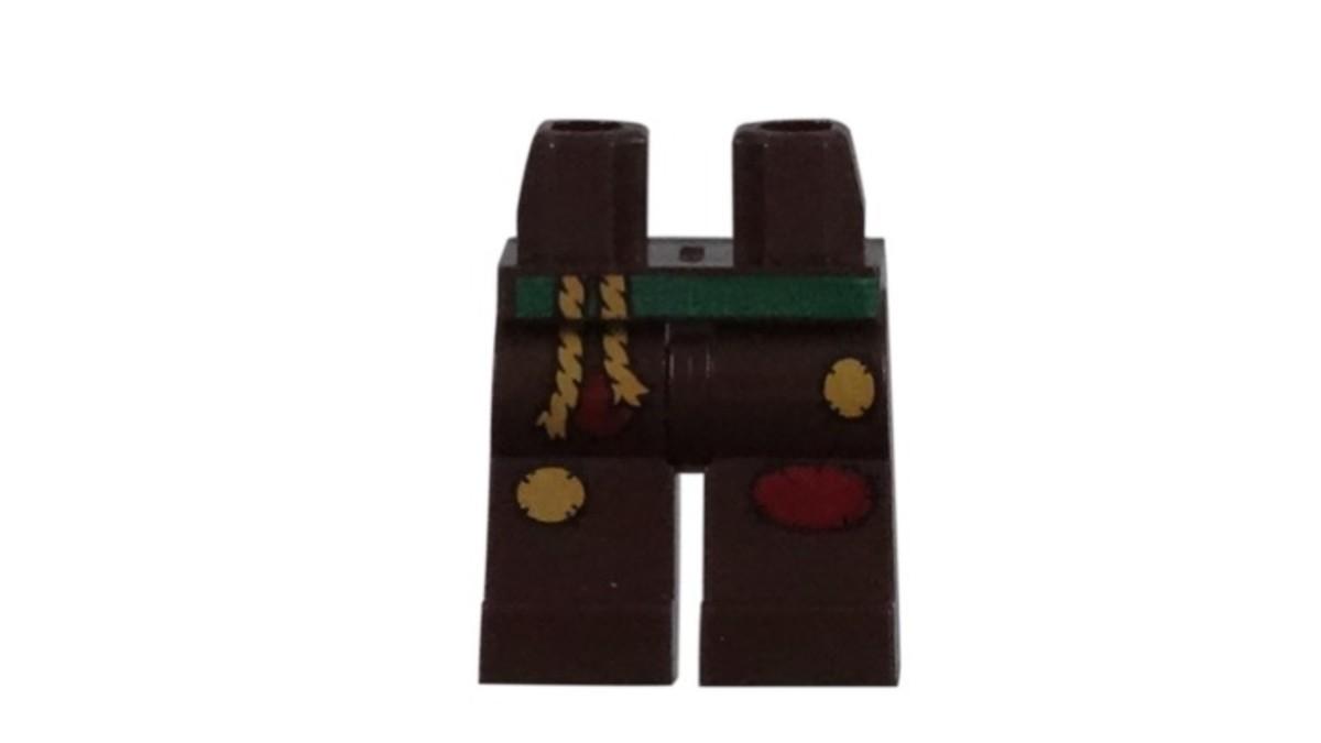 LEGO Scarecrow Minifigure Leg Piece