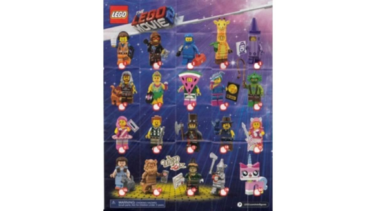 LEGO Movie 2 CMF Checklist