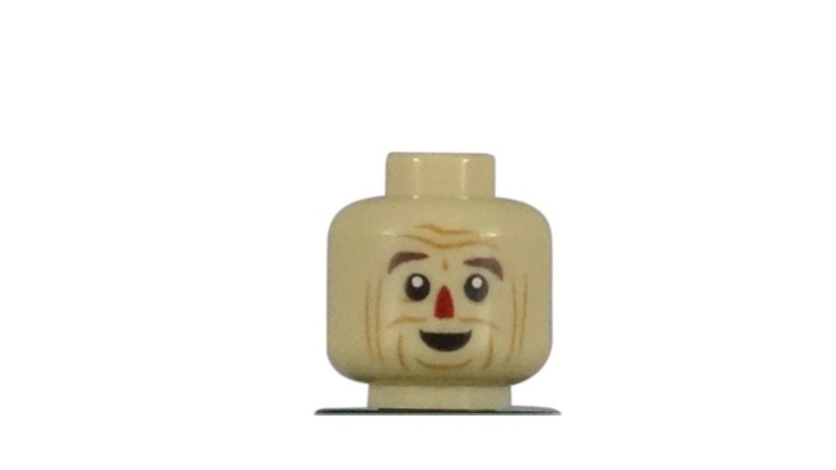 LEGO Scarecrow Minifigure Head Piece