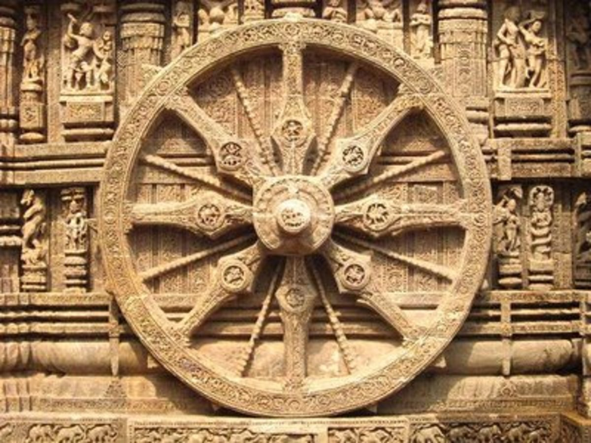 Konark Wheel, you can buy its miniature form from the local vendors to keep as a souvenir.