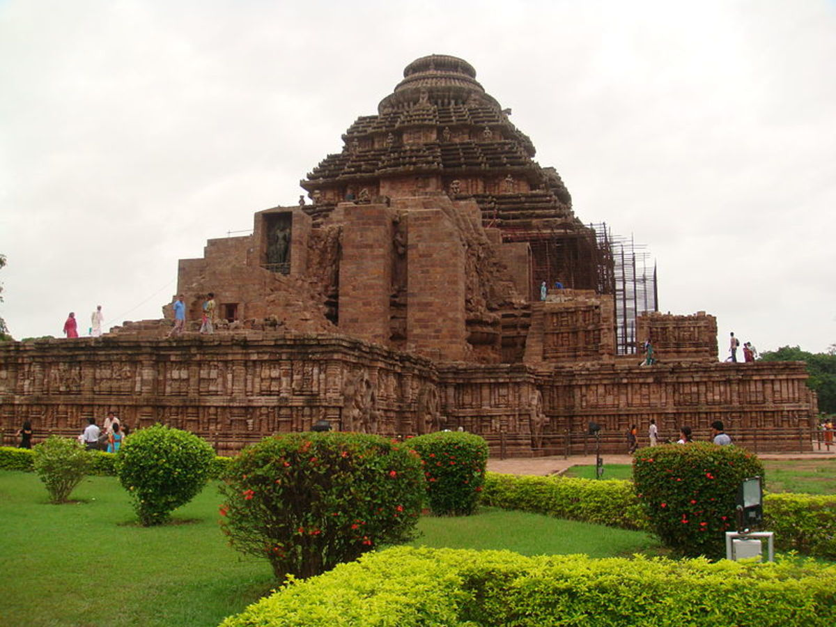 Another view of the Sun Temple, Konark