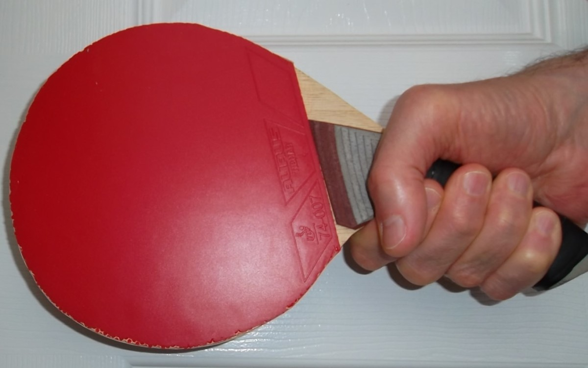 Full Hand Grip with Gambler Ergonomic Super Grip Blade