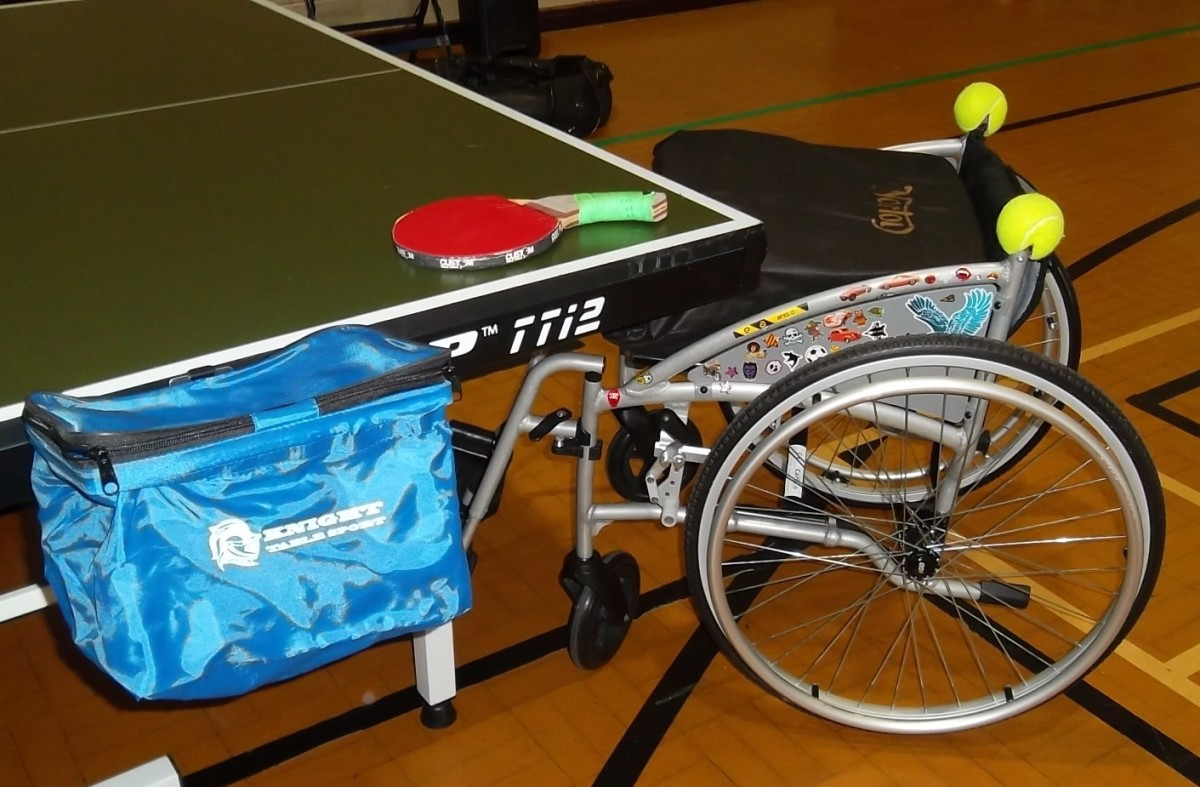 My Table Tennis Transition From Standing Player to Wheelchair Player With a Disability