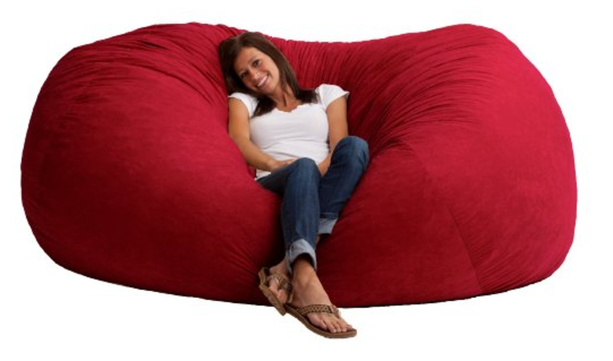 Large Pillows And Beanbags For Dorm Rooms