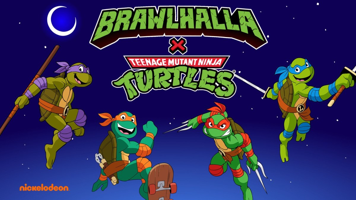 The Heroes In A Half Shell have come to Brawlhalla