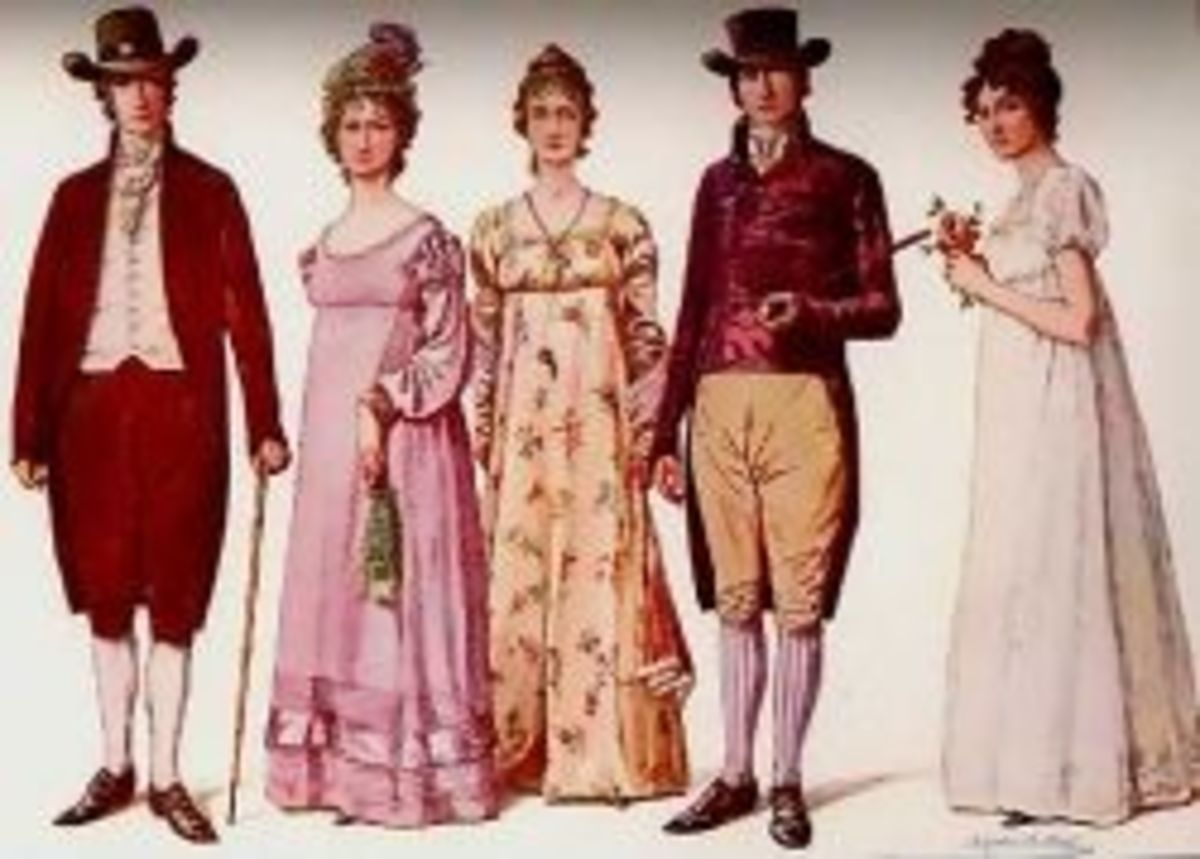 The Regency Wedding Party