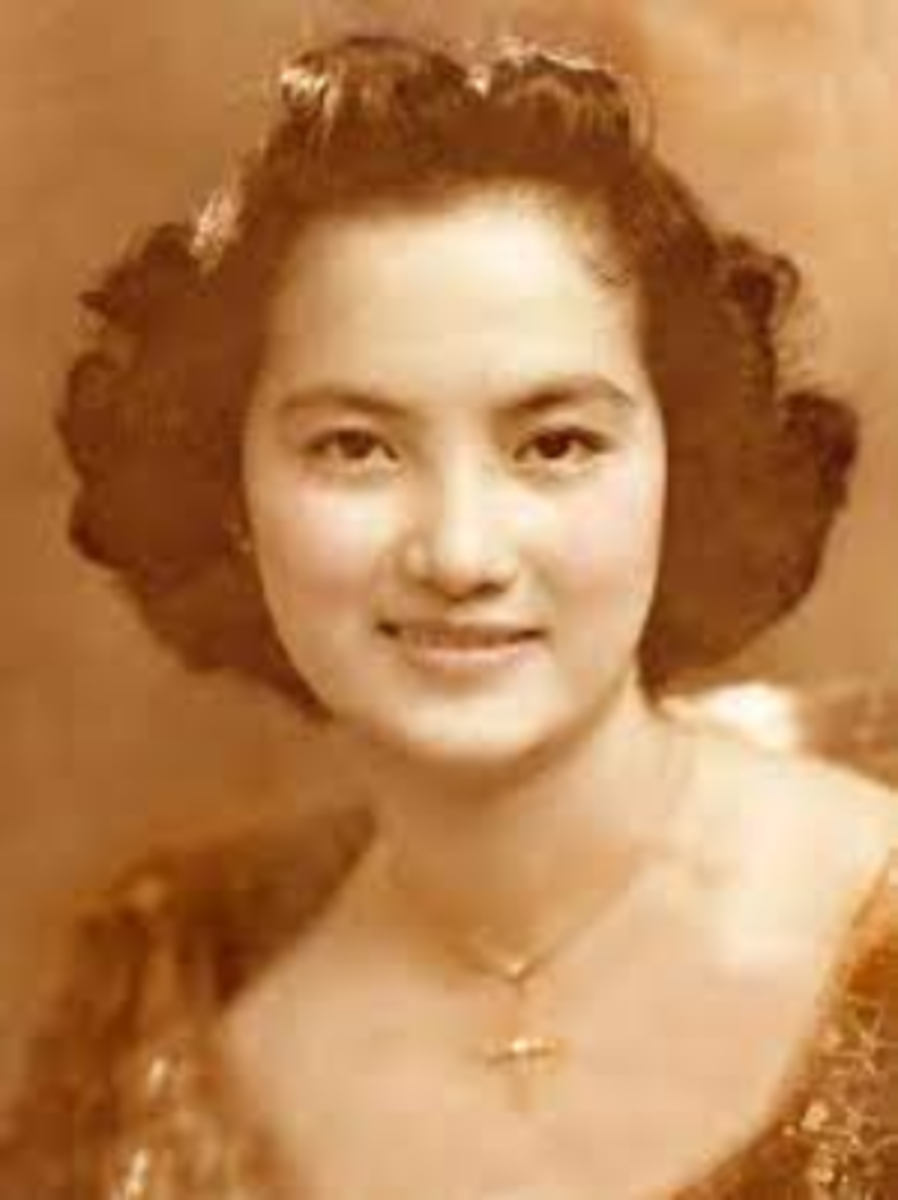 Adela Planas-Paterno, the alleged White Lady of Balete Drive.