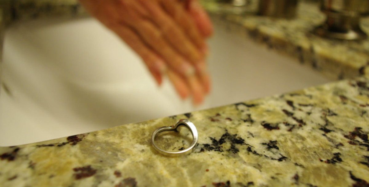 Remove silver jewelry before washing, showering, and swimming