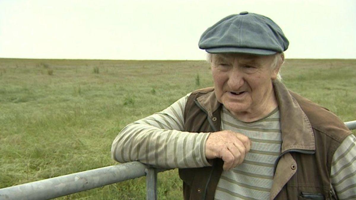 Land Owner Fred Johnson