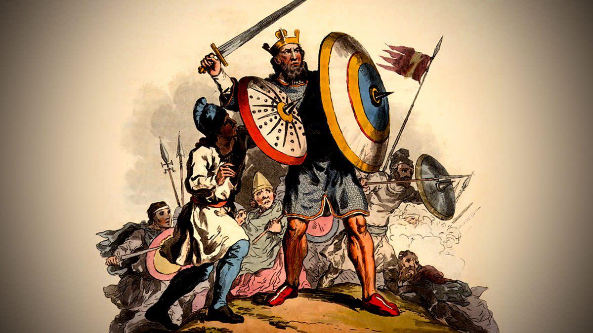 King Raewald Died 625