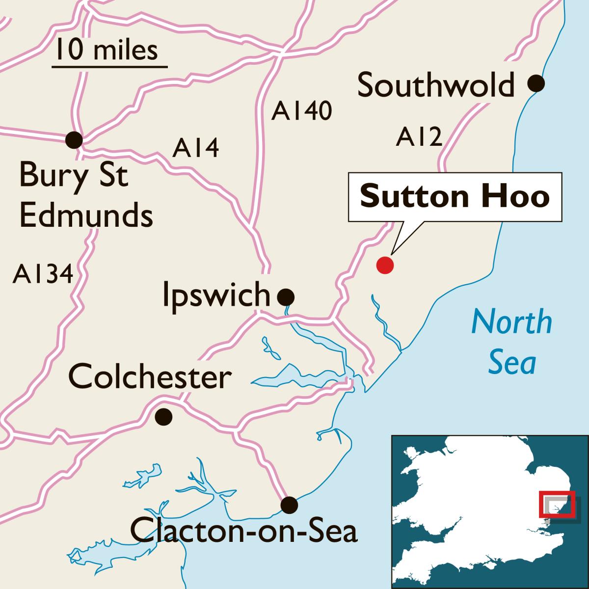 Sutton Hoo, England