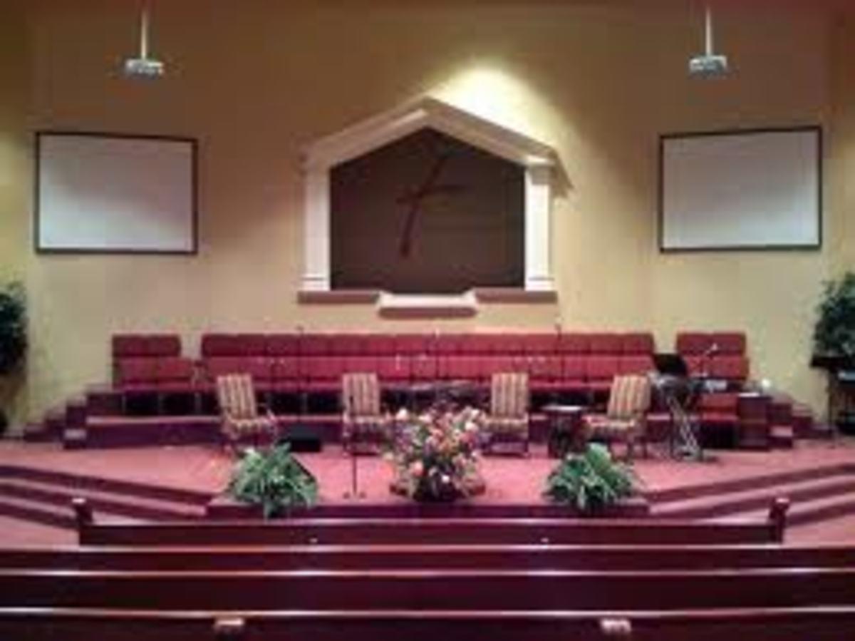 A Modern Church With No Altar
