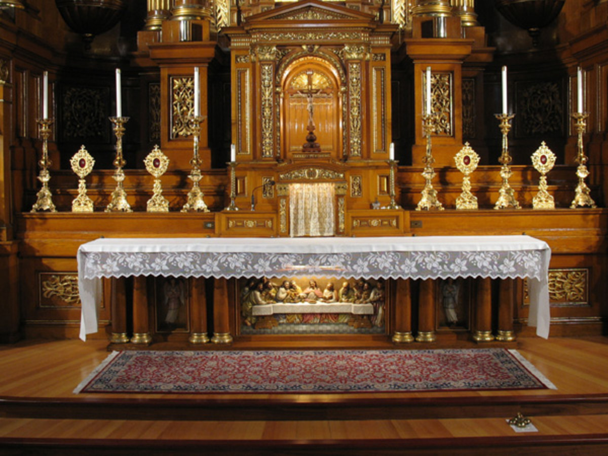 The Christian Altar (The Lord's Supper, Episode IV)