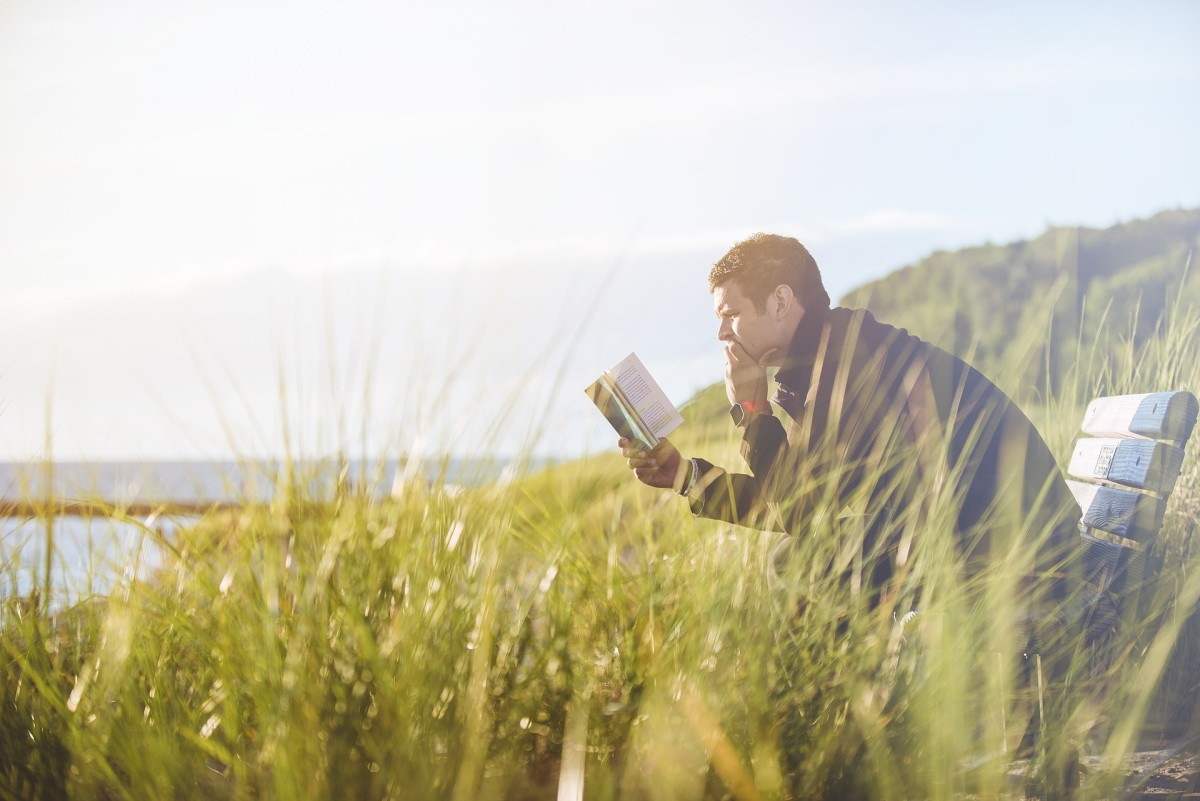 Lots of introverts prefer to read quietly by themselves. if this is the case for your partner, give them their space to recharge.