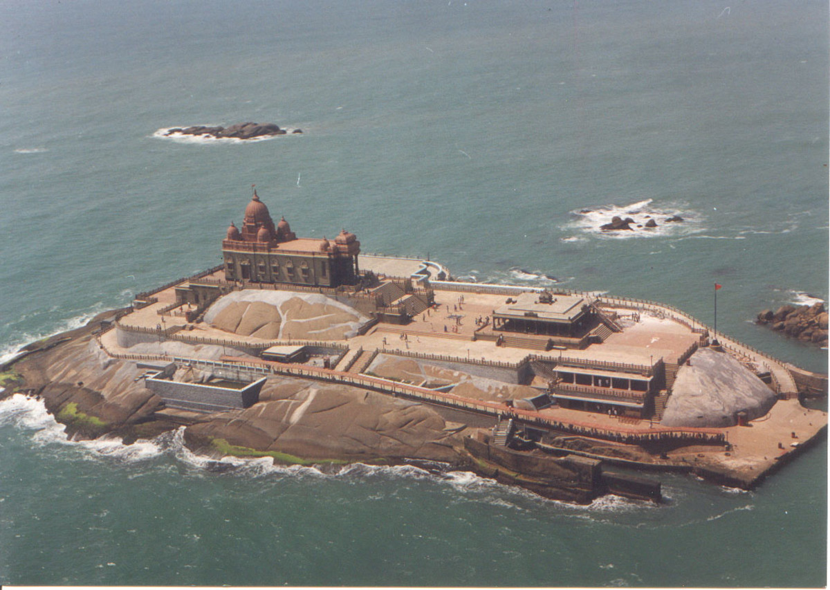 Vivekananda Rock, a lovely place to spend time