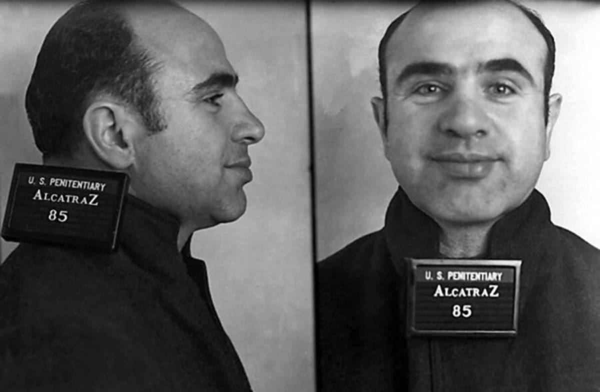 AL-Capone was declared America's Public Enemy No #1 at one point of time due to his notorious criminal activities