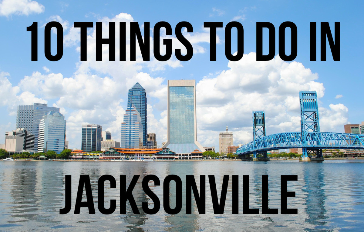 For my things to do in Jacksonville: Top 10, please read on...