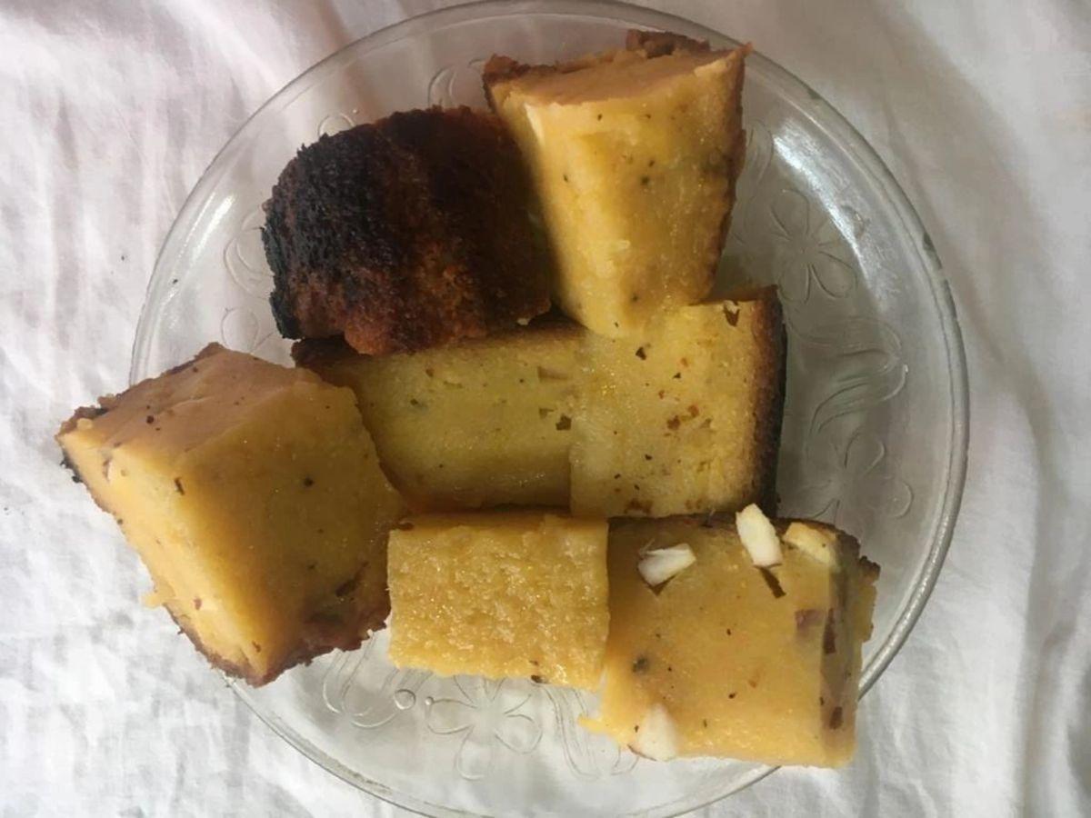 Pumpkin Poda Pitha (Authentic Cake)
