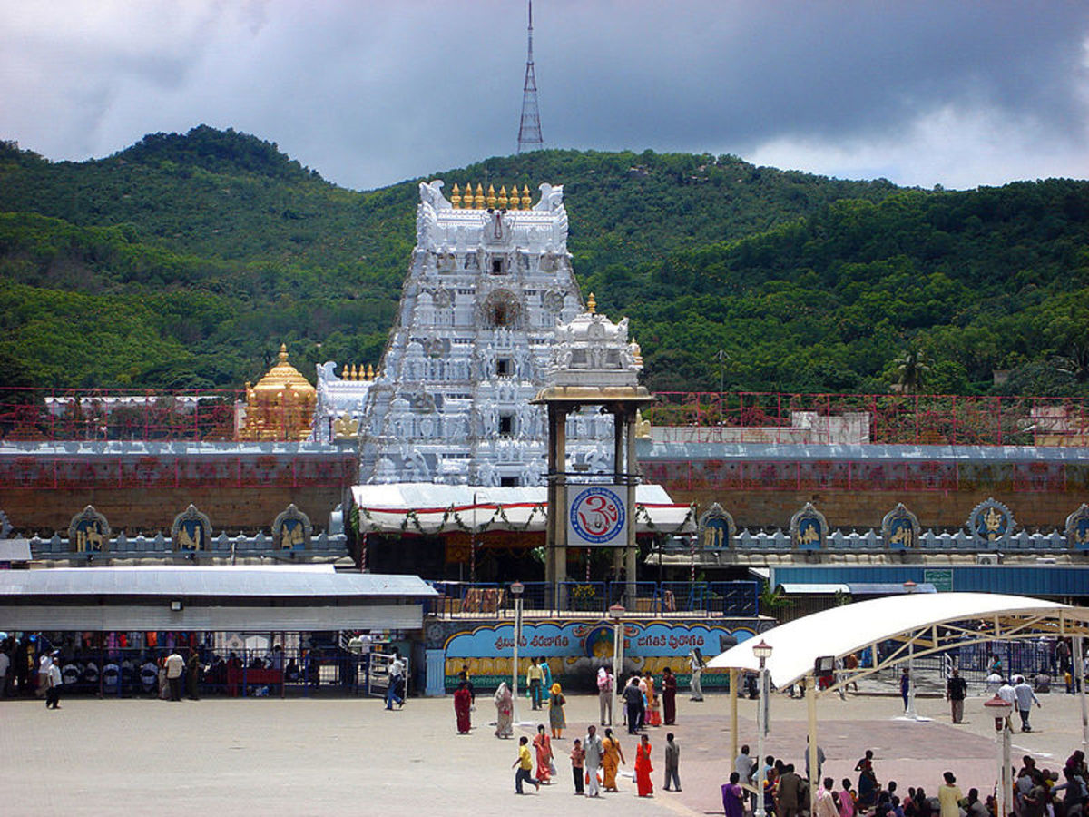 Tirupati Venkateshwara Temple, Andhra Pradesh