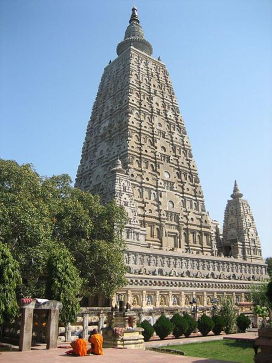 Templo Maha Bodhi en Bodh Gaya, Bihar