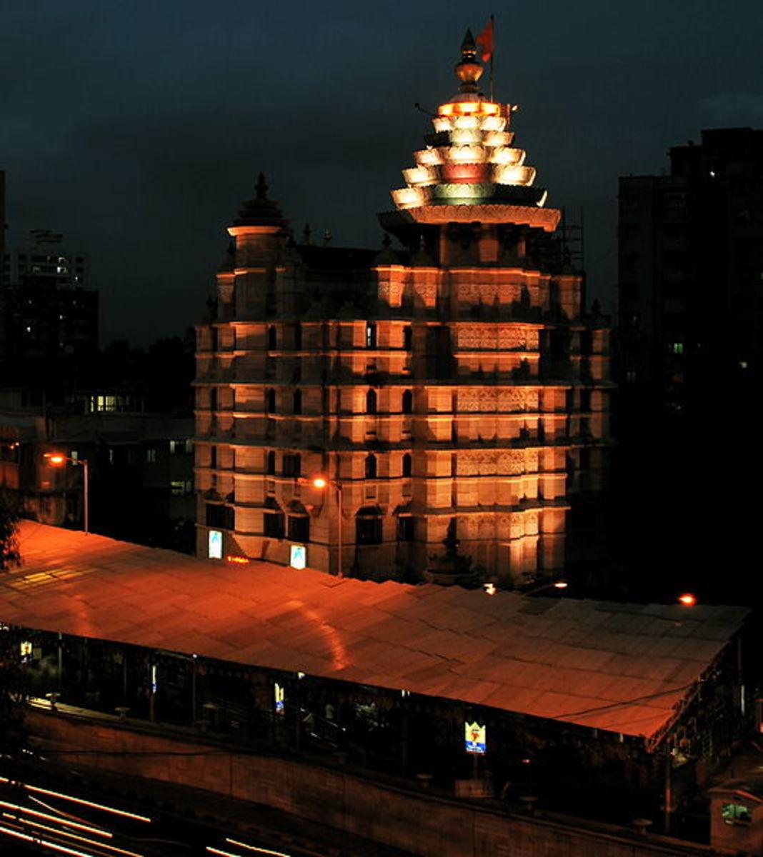 Siddhi Vinayaka templo, Mumbai