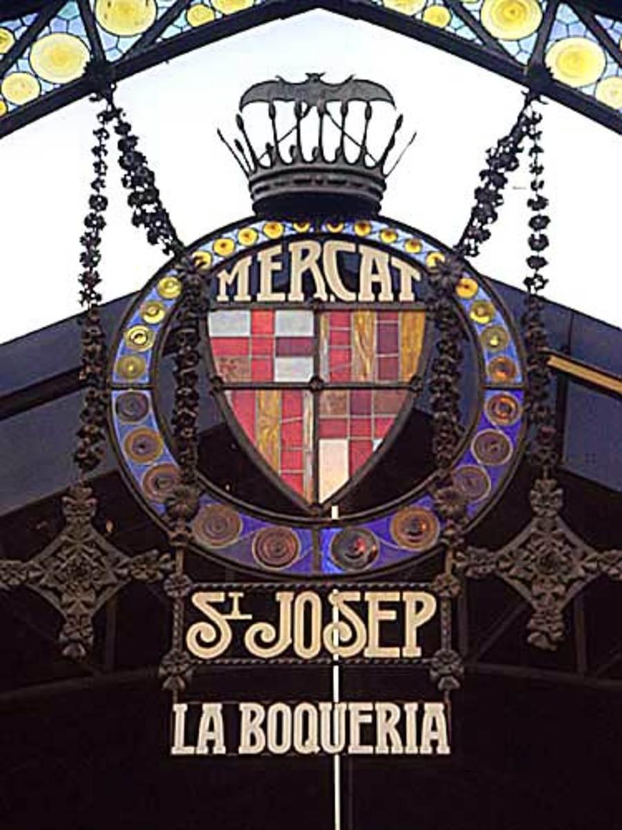 La Boqueria, Barcelona, Spain.