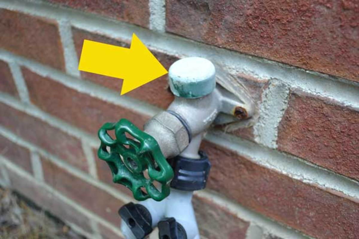 How To Repair A Leaking Outdoor Faucet