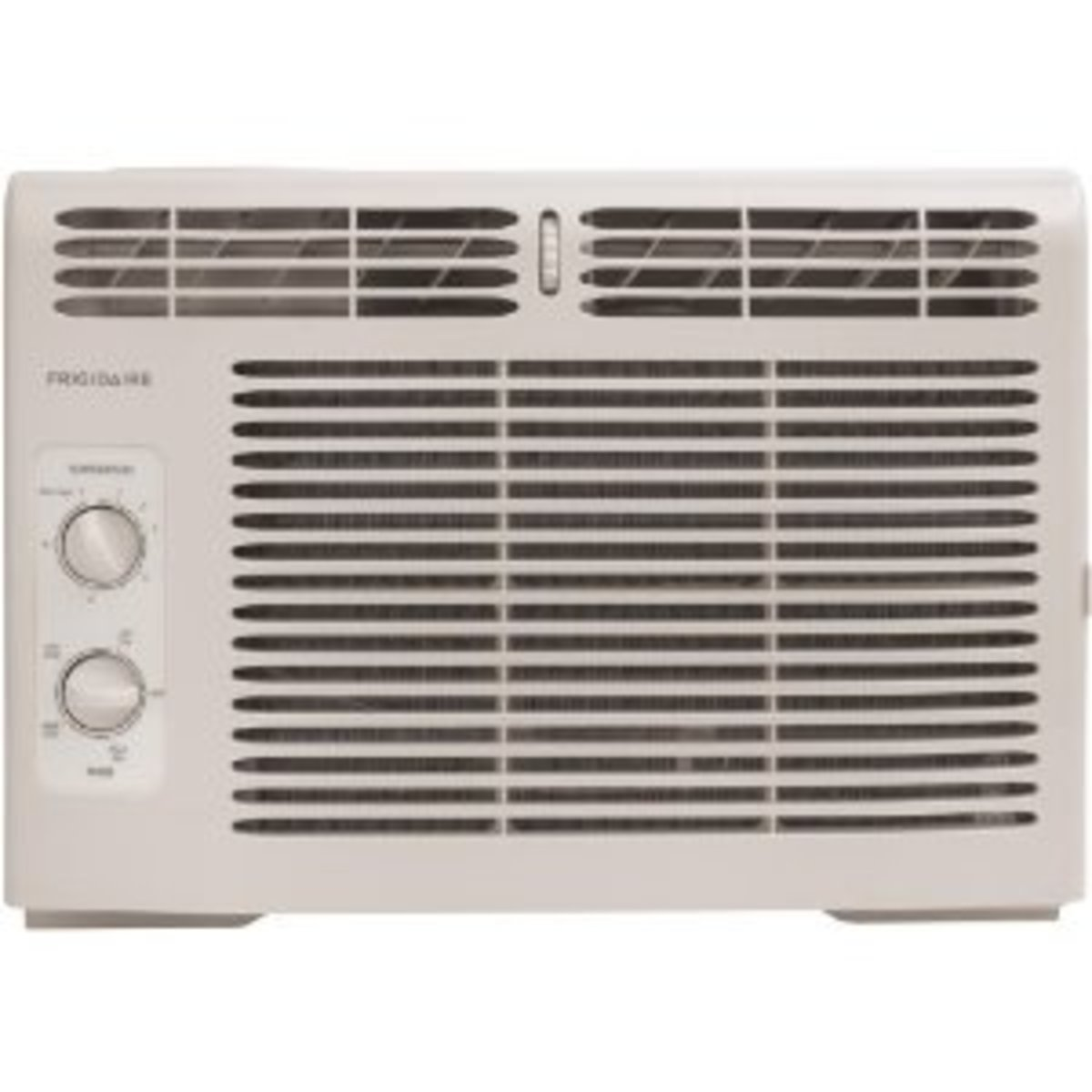 An example of a mini window air conditioner.