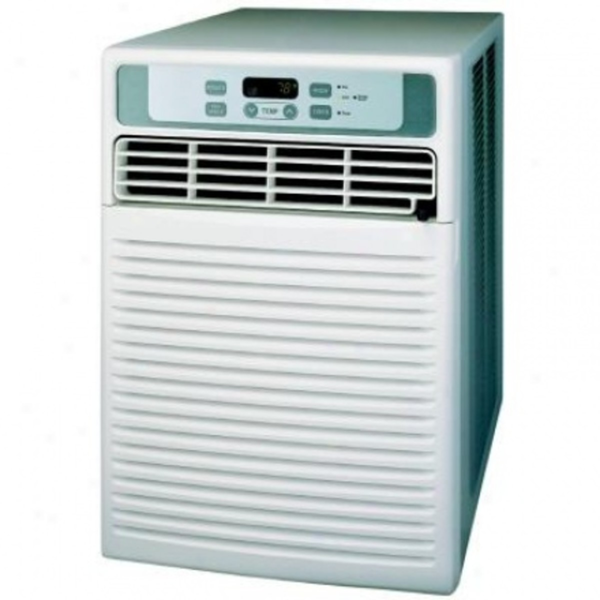 Vertical window air conditioners are now available.