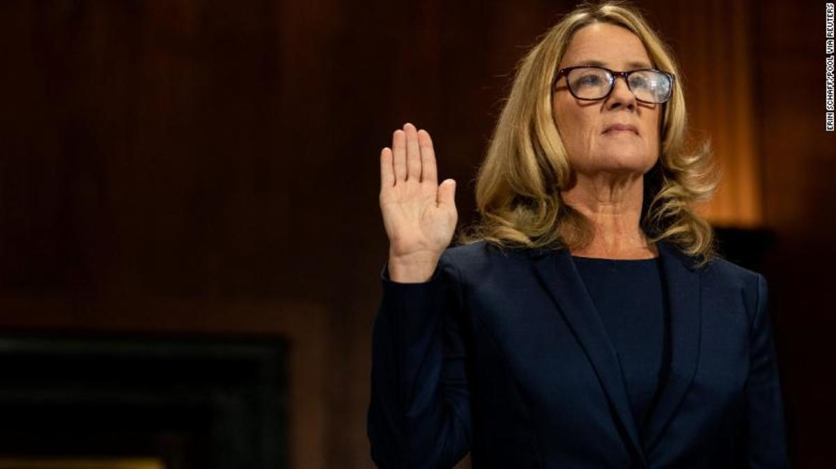 Courtesy of CNN.  Christine Blasey Ford, who brought up allegations of Supreme Court nominee, Brett Kavanaugh sexually assaulting her at a party years ago, was hailed as a hero of the MeToo movement.  Yet, not many recall her name today.