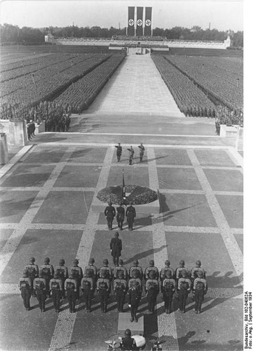 Nuremberg Rally, 1934 -Deutsches Bundesarchiv (German Federal Archive)