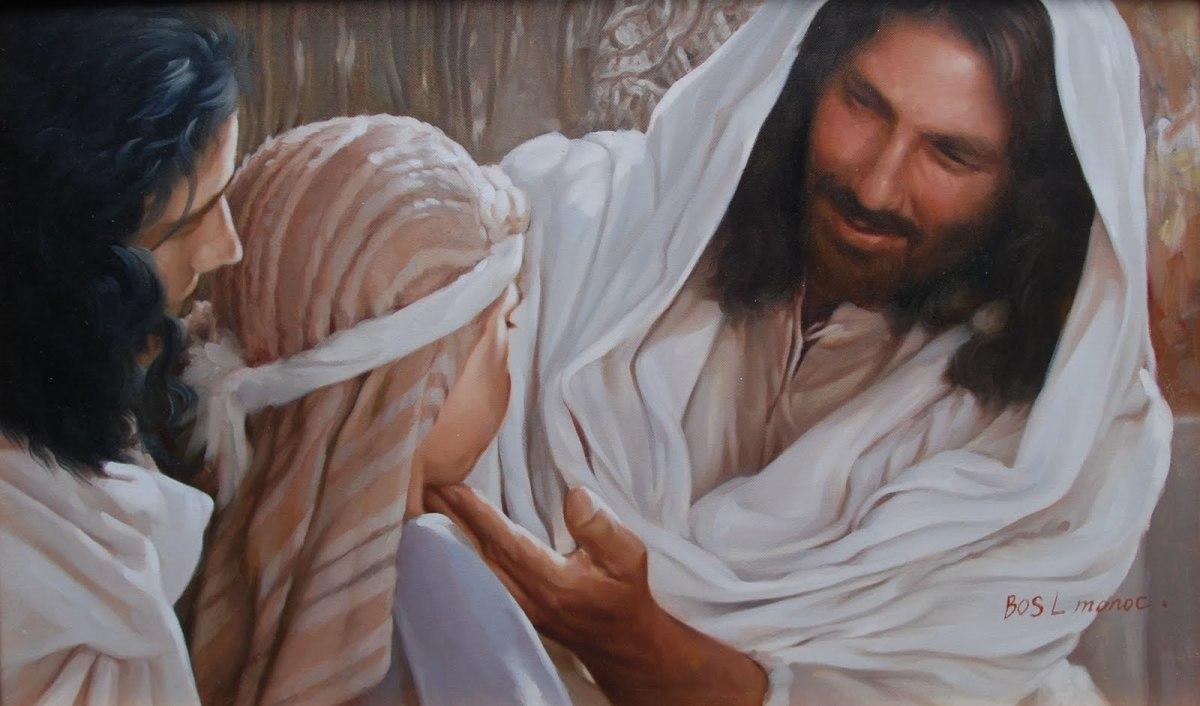 Jesus Comforting People
