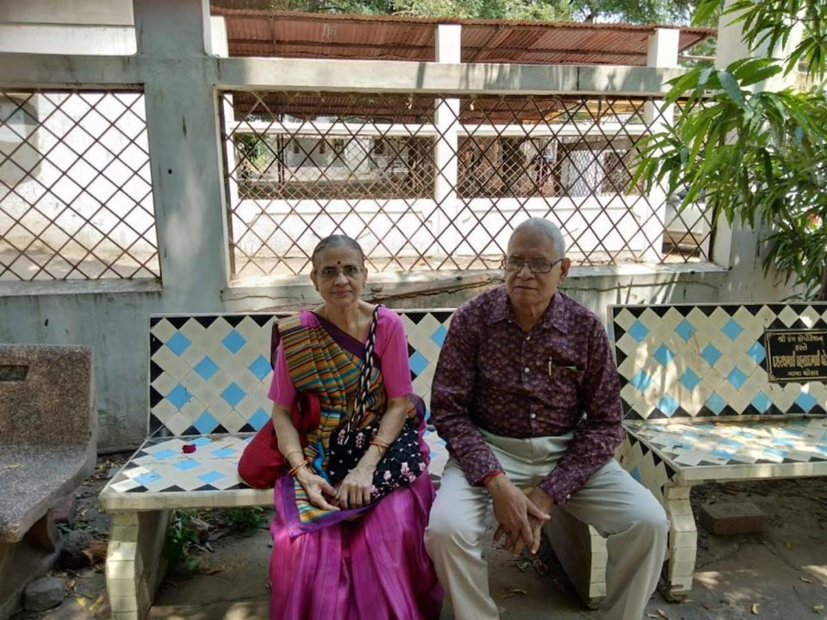 My parents .... Vanita Thakkar