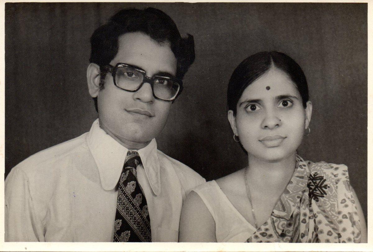 An old and very beautiful photograph of my parents .... Vanita Thakkar