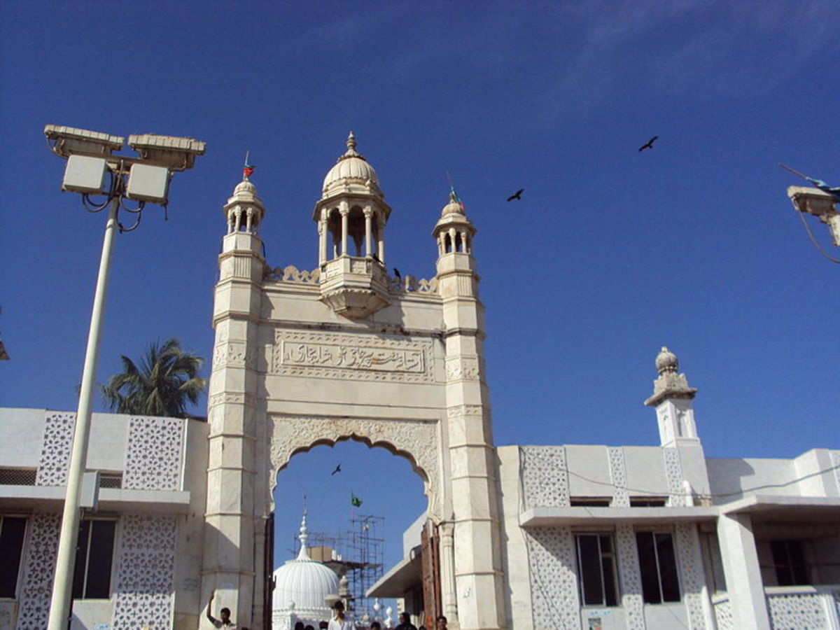 Entrance of the Mosque