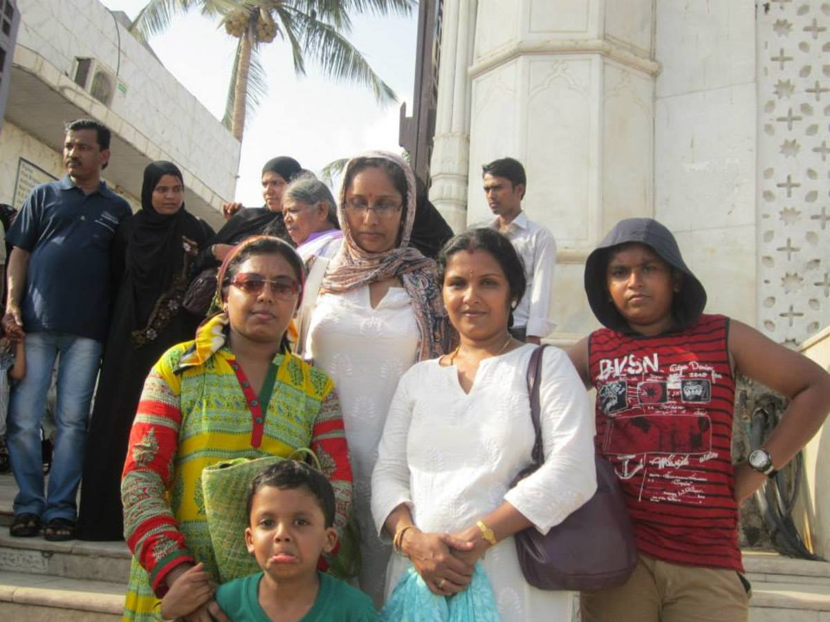 My family before the Dargah