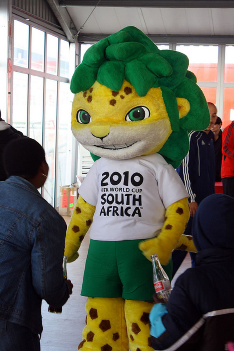 Zakumi Leopard - The official mascot of FIFA world Cup 2010