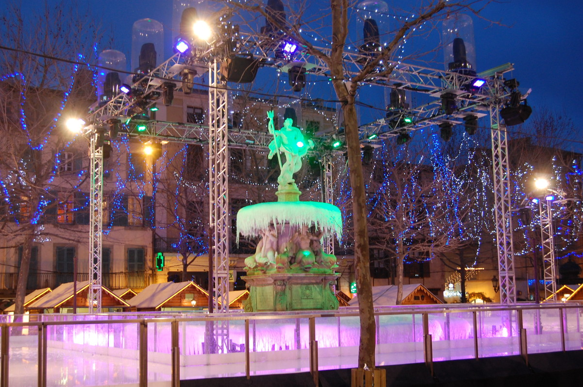 Place Carnot - new years eve
