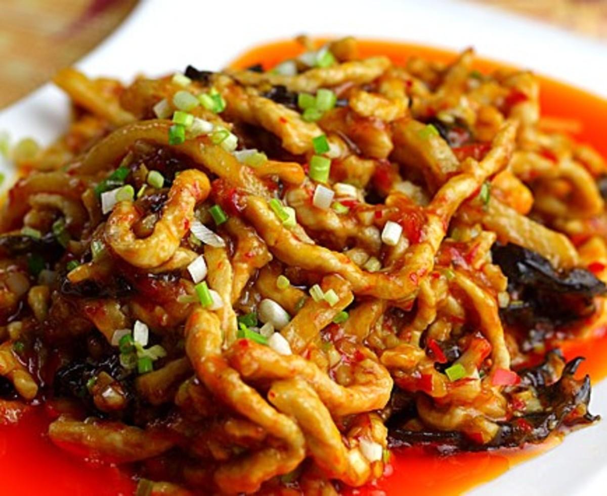 Yuxiang shredded pork