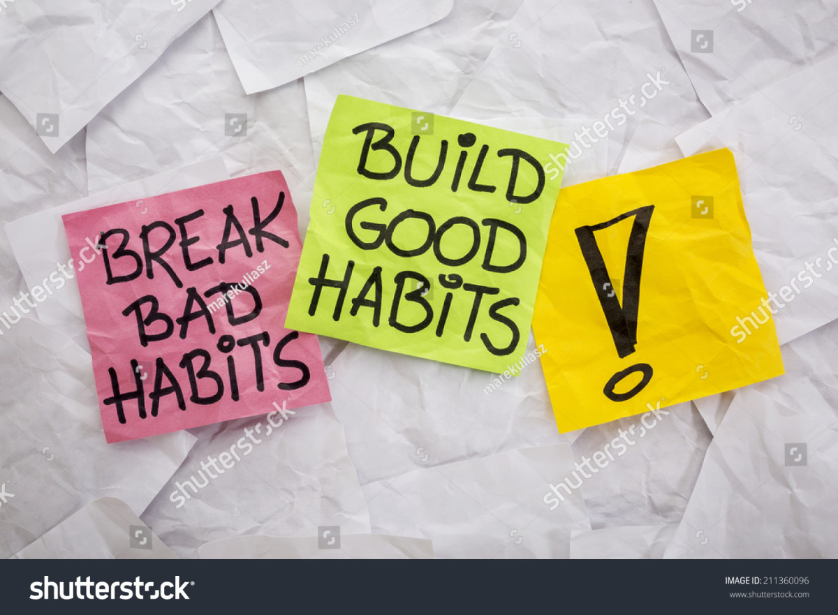 How to Get Rid of Bad Habits in Our Lives?
