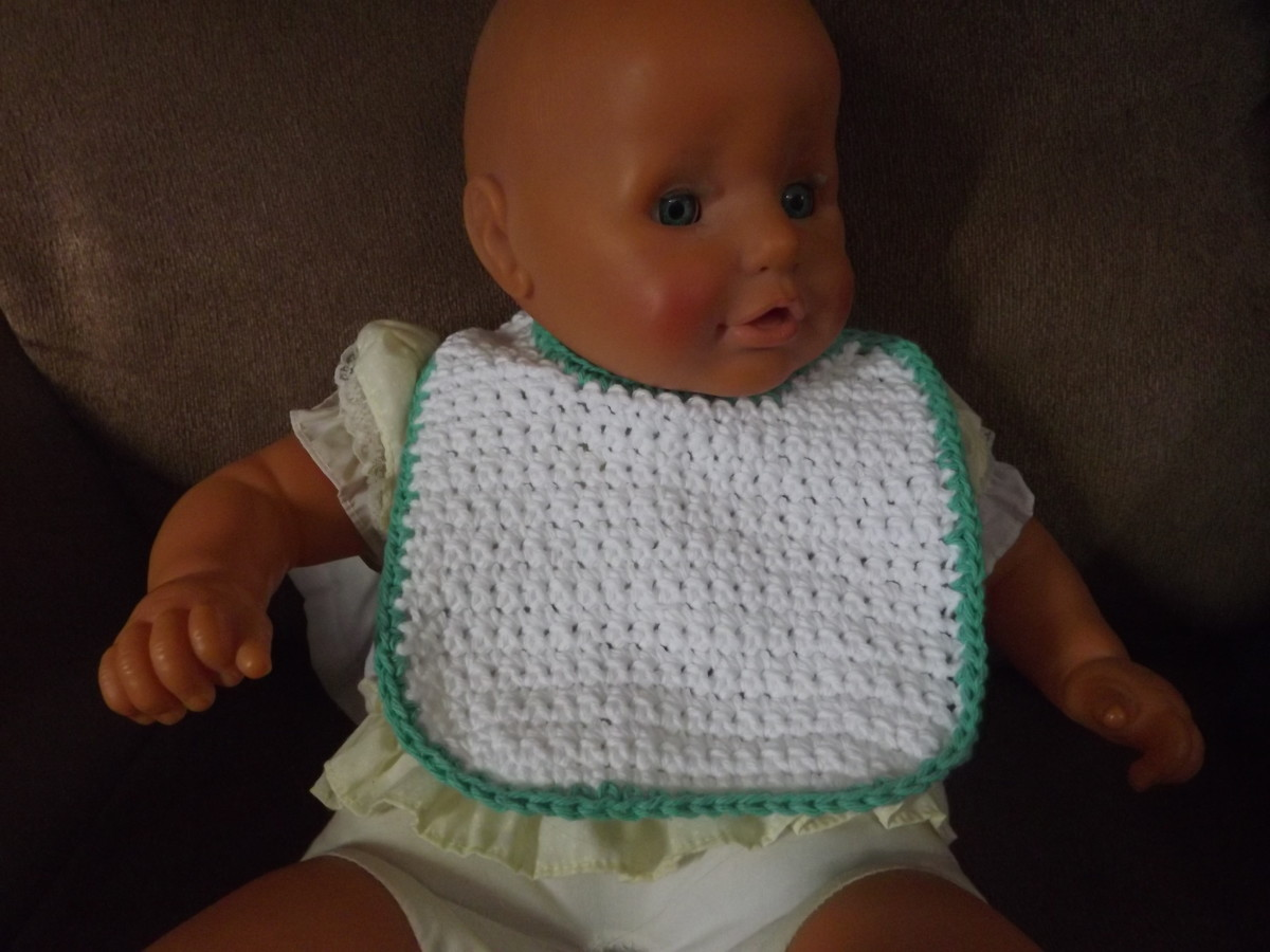 Baby Bib from Barbs Crochet