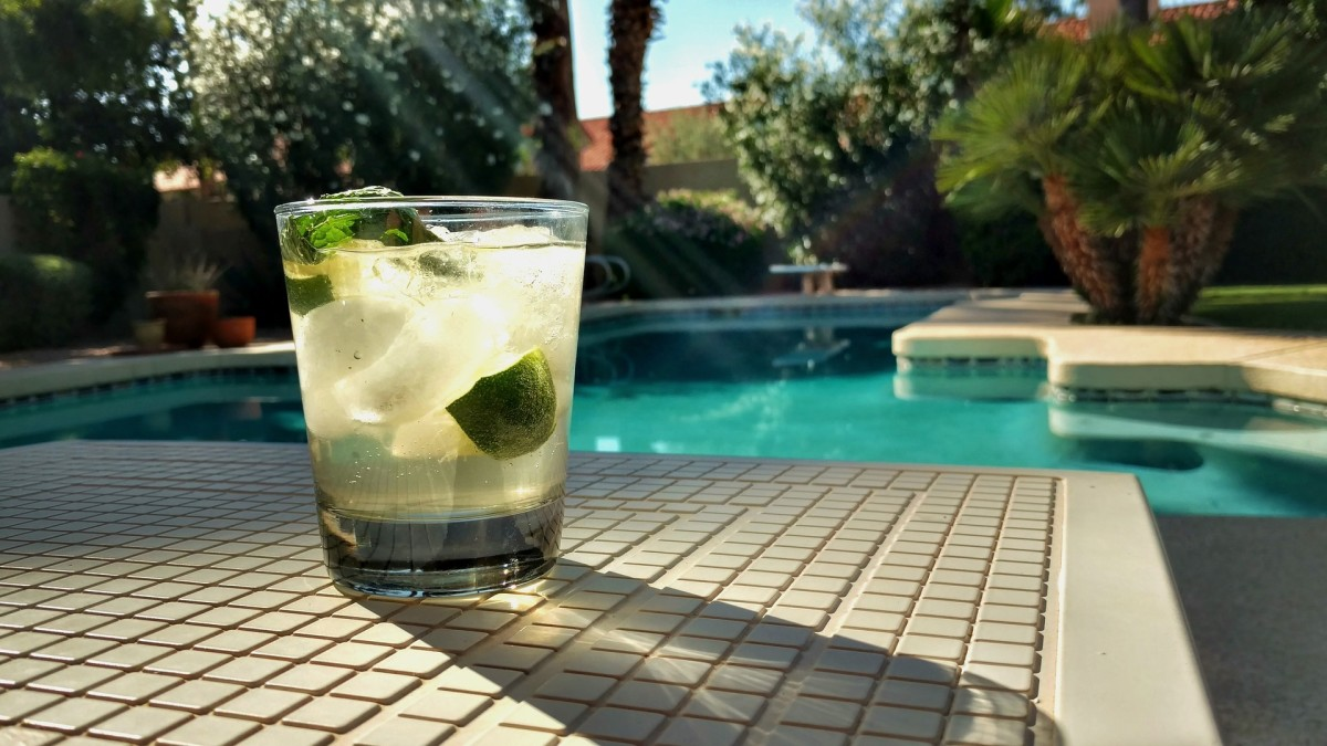 Now that your pool is all ready for summer, it's time to kick back and relax.