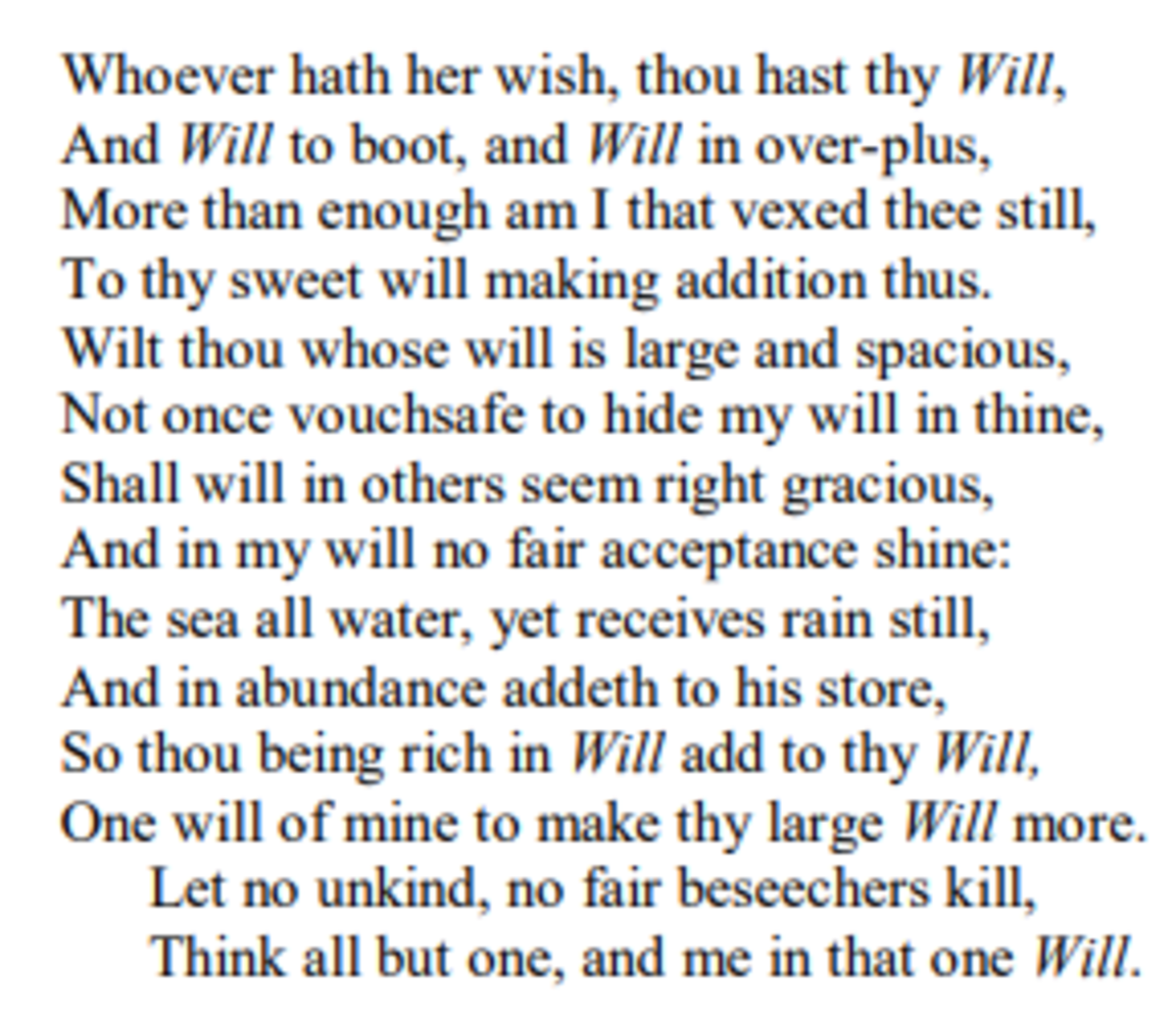 analysis-of-sonnet-135-by-william-shakespeare
