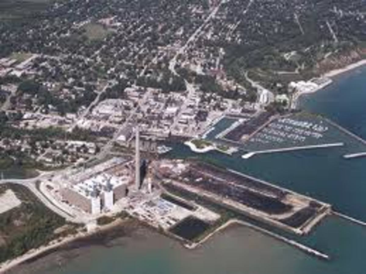 Port Washington Aerial View