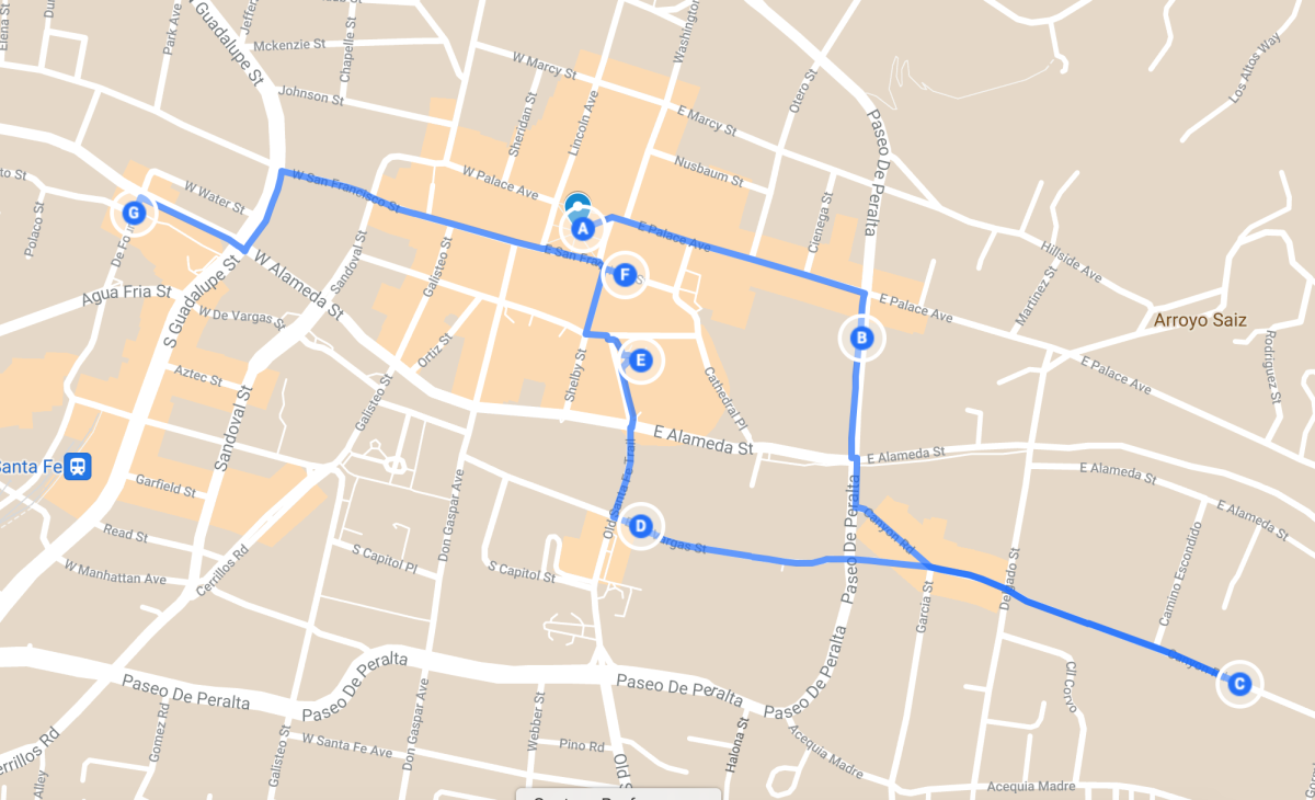Haunted Walking Tour of Santa Fe