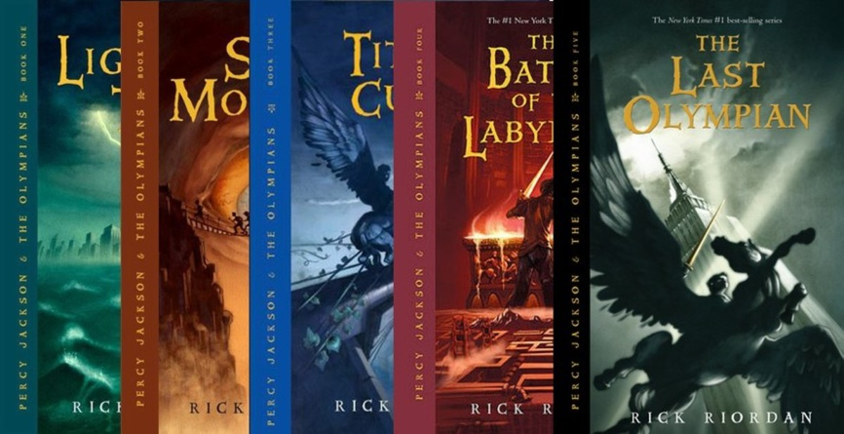 Percy Jackson and the Olympians: Books 1-5