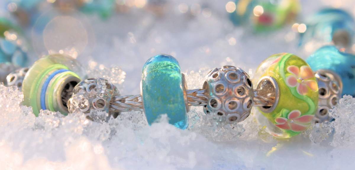 Murano Glass Beads are high quality beads made in Venice.