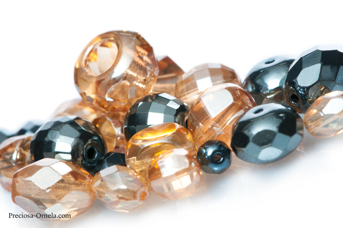 The first fire-polished beads are believed to have been created over 500 hundred years ago.
